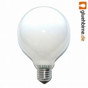Glühbirne 60 Watt : 1 x globe gl hbirne 60w e27 opal g95 95mm globelampe ~ Eleganceandgraceweddings.com Haus und Dekorationen