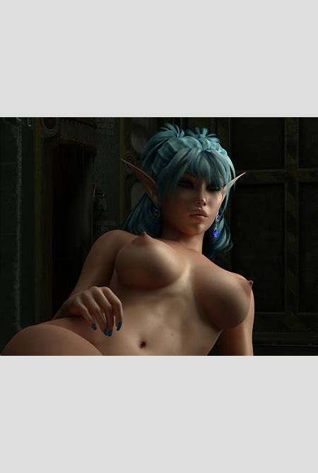 Wallpaper 3d vector girl, fantasy, anime, erotic, elf, girl, big boobs, boobs, tits, sexy, hot ...