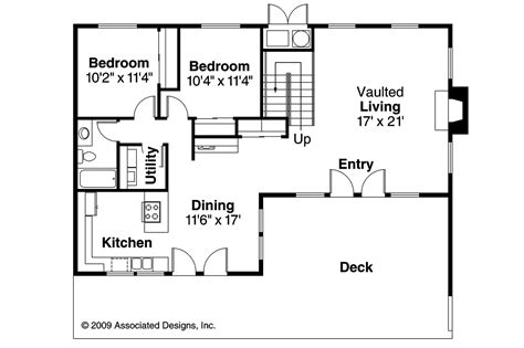 a house floor plan a frame house plans cascade 10 034 associated designs