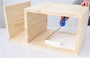 Table De Nuit Haute : cr er la table de chevet sleepy la fabrique diy ~ Teatrodelosmanantiales.com Idées de Décoration