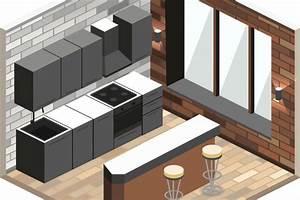 3d Architekt Küchenplaner : 3d k chenplaner k che fachgerecht planen wohnungs ~ Indierocktalk.com Haus und Dekorationen