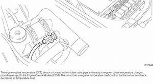 Engine Coolant Thermometer Sensor