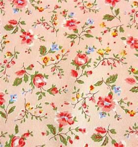 Vintage Floral Fabric Patterns