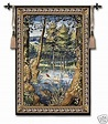 40x53 VERDURE w/ ANIMALS Tapestry Wall Hanging | Wall ...