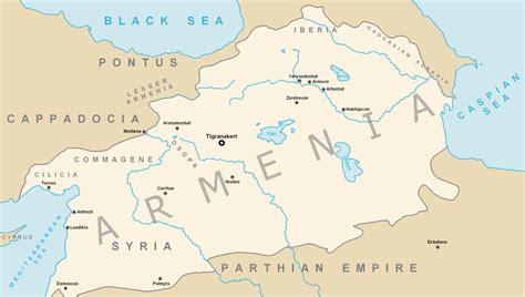 armenia russia map