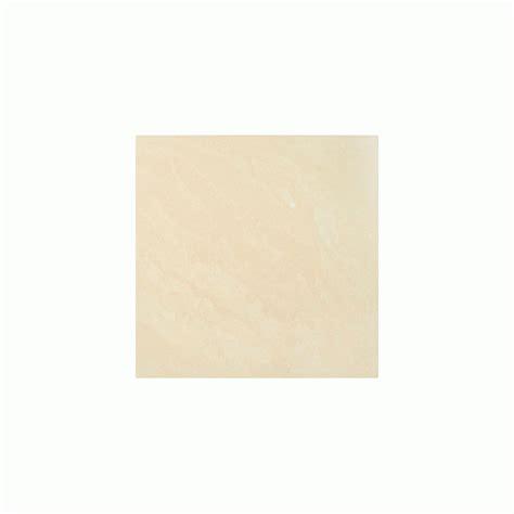 Cream Polished Porcelain 60cm X 60cm Floor Tile