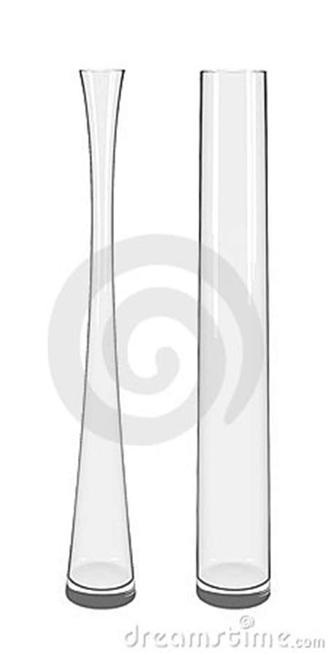 vasi trasparenti vetro alti vasi trasparenti di vetro fotografia stock immagine
