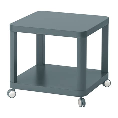 table with wheels ikea tingby side table on casters turquoise ikea