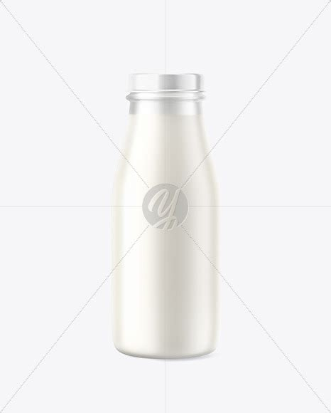 Download only the best free paper mockups in psd (with smart object layers) for. Frosted Milk Bottle Mockup in Bottle Mockups on Yellow ...