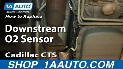 replace rear downstream oxygen  sensor
