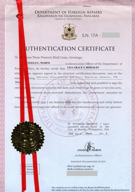 TIPID WAY TO OBTAIN NSO AND DFA RED RIBBON DOCUMENTS WHILE ...