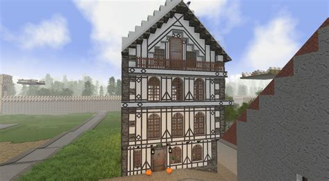 Mittelalterliches Hausmedieval House  Media And