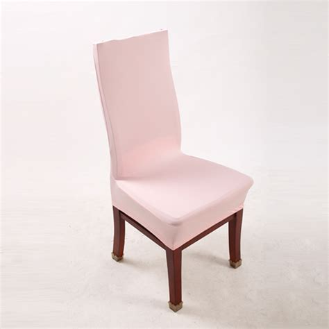 pink slipcover chair pink polyester spandex dining chair covers for wedding