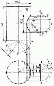 Durchmesser Berechnen Zylinder : rechtwinklige durchdringung zweier zylinder verschiedener durchmesser ~ Themetempest.com Abrechnung