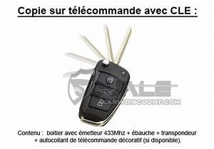 Double Clé Voiture : double cle audi a4 95 97 copie cle duplicata cle alarm ~ Maxctalentgroup.com Avis de Voitures