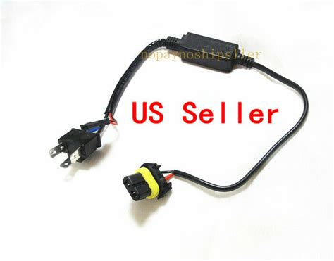 Car Truck H4 Hid Relay Harness Motorcycle Wire High Low Bi