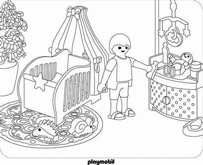 Playmobil Coloring Pages Ausmalbilder Printable Getcolorings Playmob