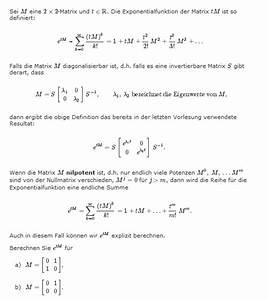 Obere Dreiecksmatrix Berechnen : exponentialfunktion exponentialfunktion von matrizen s 1 as berechnen mathelounge ~ Themetempest.com Abrechnung