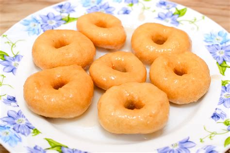 how to make a doughnut how to make canned biscuit dough donuts 8 steps with pictures