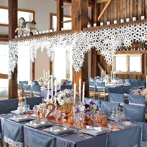 the winter wedding ideas in magical decoration best