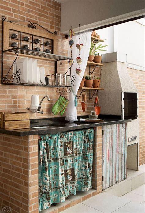 cocinas  paredes de ladrillos decoracion pinterest