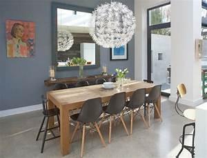 Table Salle A Manger Style Industriel : objets design salle a manger moderne chaise table a manger en bois tableau mur chaise de ~ Teatrodelosmanantiales.com Idées de Décoration