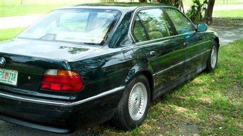 dark green bmw buy used bmw 750il metallic dark green 127435 miles non