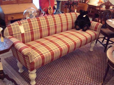 broyhill emily sofa navy plaid sofa and loveseat lazy boy country green plaid sofa