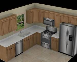 kitchen layouts picmia With 10x10 kitchen designs with island