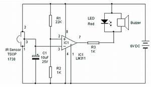 Ir Receiver  U2013 Circuit Wiring Diagrams