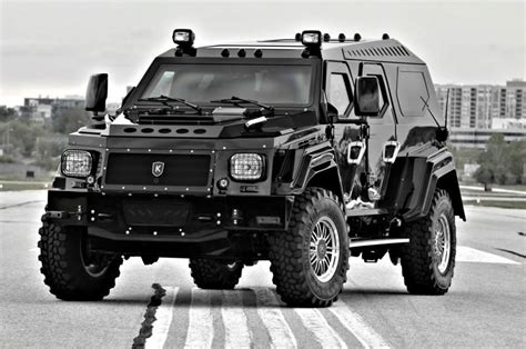 civilian armored vehicles conquest vehicles knight