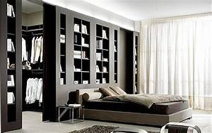 Dressing Autour Du Lit : chambre design avec dressing ~ Melissatoandfro.com Idées de Décoration