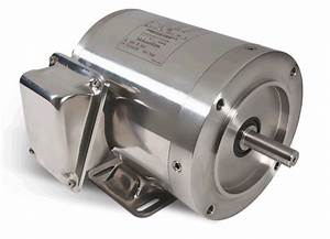 3  4 Hp 3450 Rpm 56c Frame Tenv 208 460 Volts Stainless