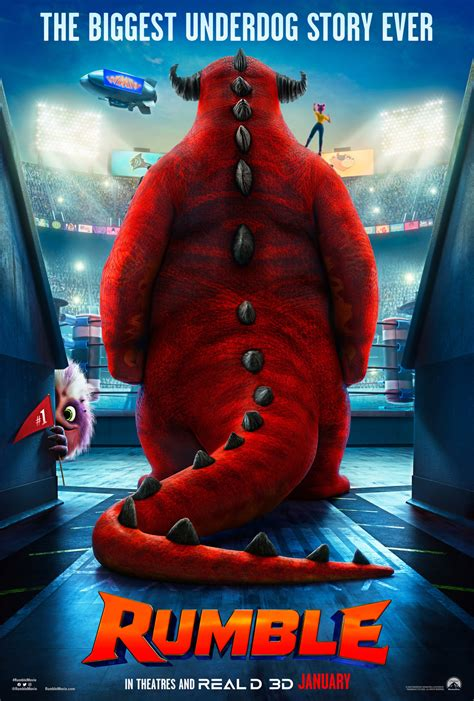 Rumble DVD Release Date   Redbox, Netflix, iTunes, Amazon