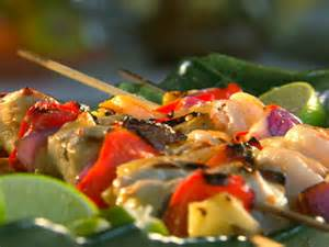 Chicken and Shrimp Kabob Recipe