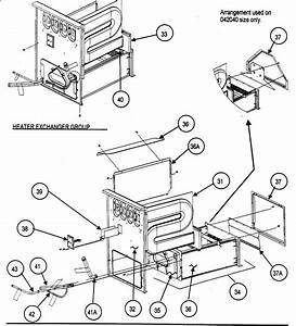 Heater Exchanger Diagram  U0026 Parts List For Model