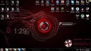 Umbrella Corp. Desktop Theme by TheWarRises on DeviantArt