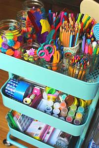 Easy, And, Effective, Kids, Arts, And, Crafts, Organization, Ideas