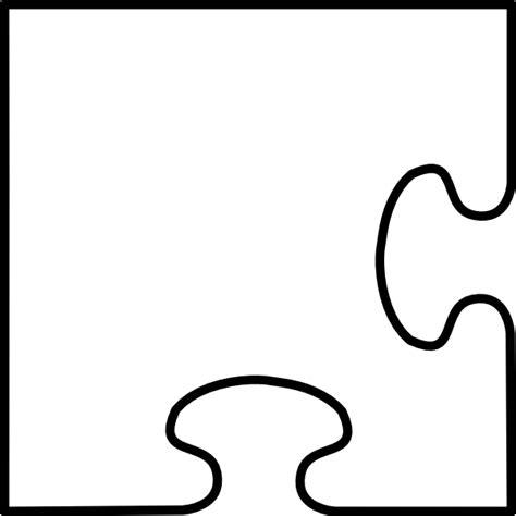 jigsaw puzzle piece clip art  clkercom vector clip