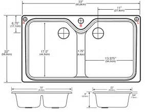 Double Sink Dimensions Kitchen by Double Bowl Kitchen Sinks Porcelain Looks With Cast Iron