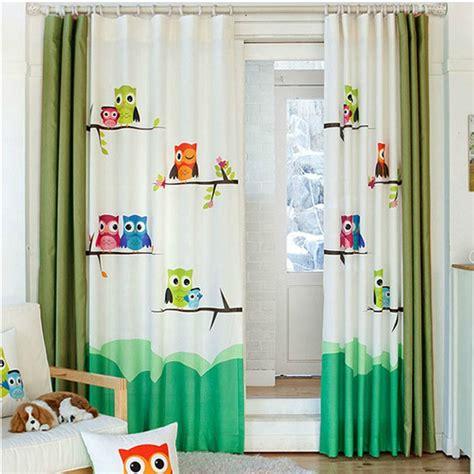 rideau occultant chambre bébé achetez en gros hibou rideau en ligne à des grossistes