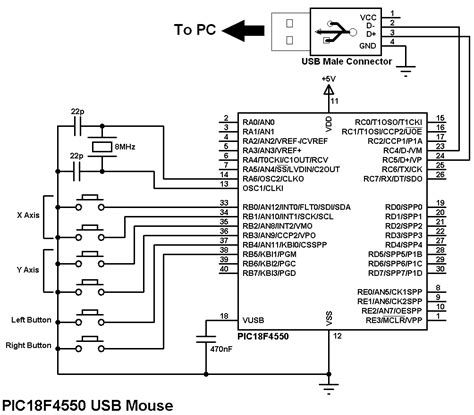 usb mouse wiring diagram wiring diagram and schematics