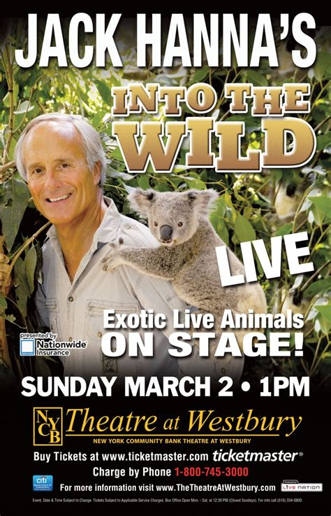 Jack Hanna Into the Wild ticket giveaway theatre at westbury
