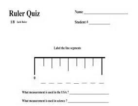 Ruler Measurement Test Questions