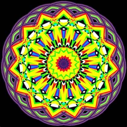 Mandala Rainbow Colors