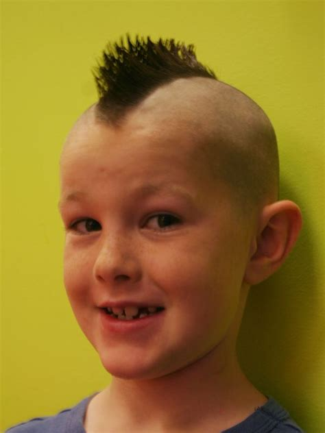 Boys Hairstyles Mohawk by 25 Best Images About Mohawk Boys On Post Rock