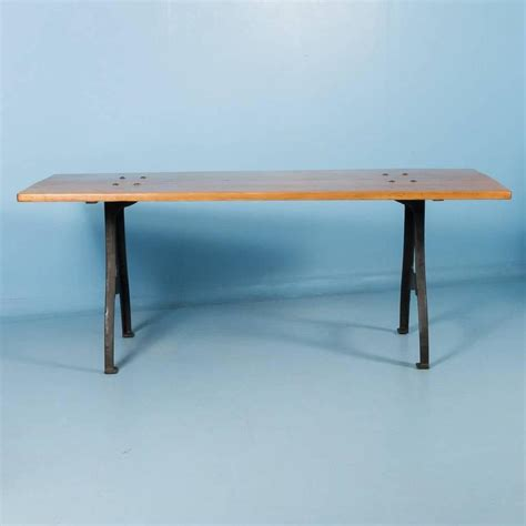 vintage cast iron table legs for sale antique danish pine dining table with cast iron legs for