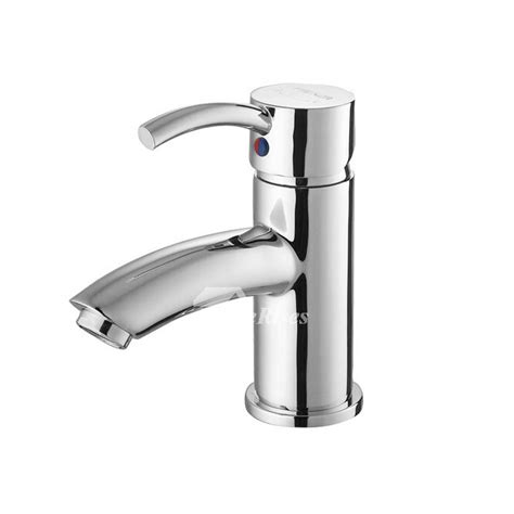 small bathroom faucets single hole vessel chrome silver brass