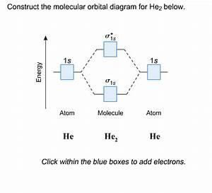 34 Molecular Orbital Diagram For He2 2