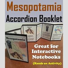 Ancient Mesopotamia Activity (the Fertile Crescent Interactive Notebook